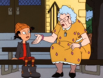 Spinelli and Miss Finster
