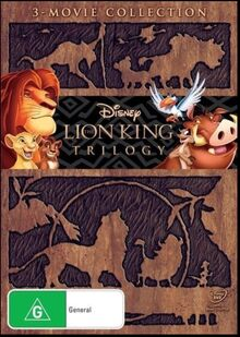The Lion King Trilogy 2011 AUS DVD