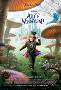 Tim Burton's Alice in Wonderland Poster 04