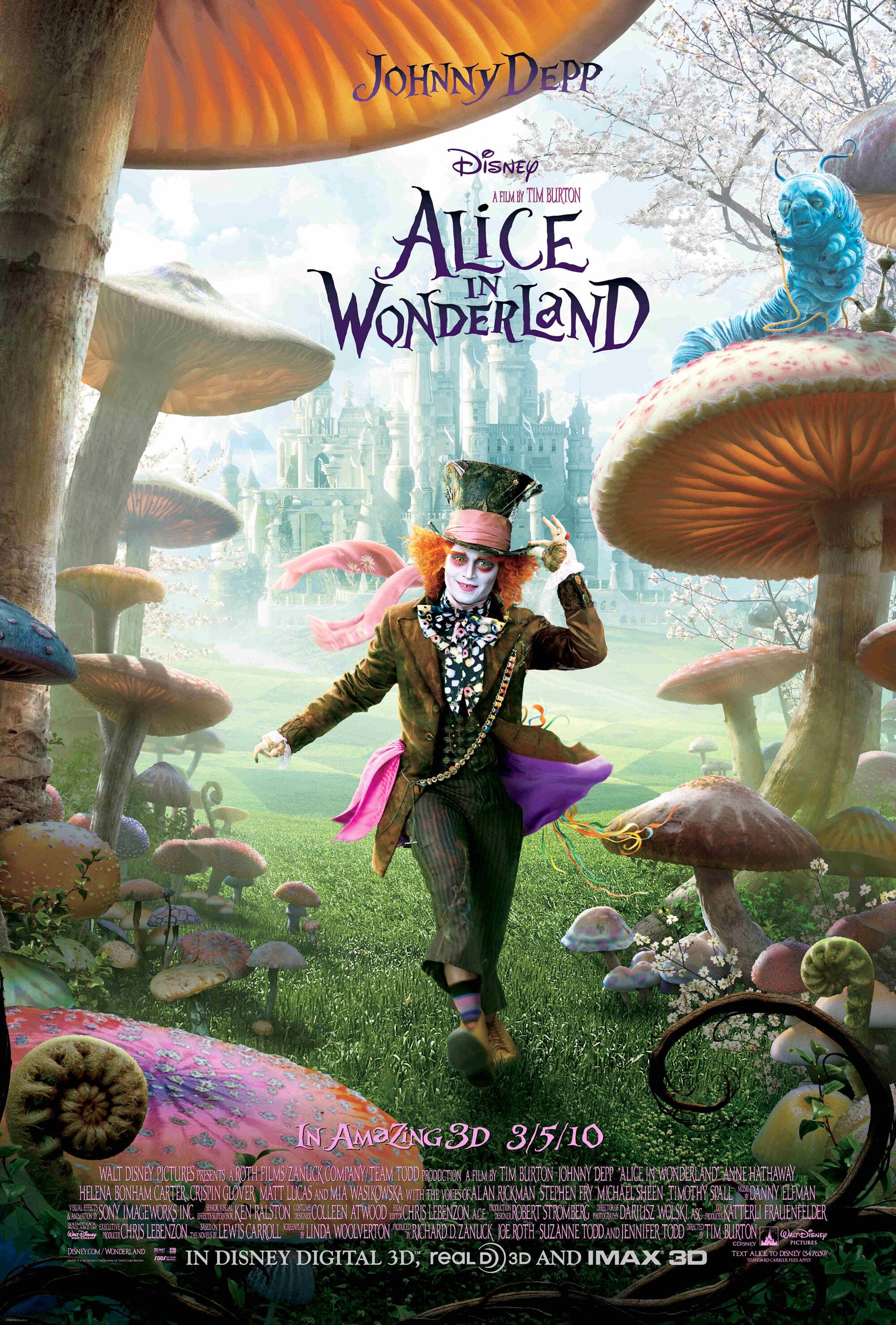 Alice in Wonderland (2010 film) | Disney Wiki | FANDOM
