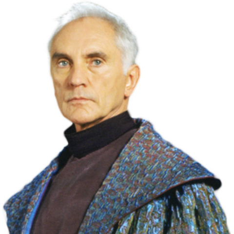 Terence Stamp jako <a href=
