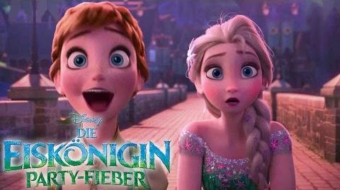 DIE EISKÖNIGIN PARTY-FIEBER - Der coole Kurzfilm vor CINDERELLA ab 12. März im Kino! Disney HD