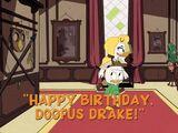 Happy Birthday, Doofus Drake!