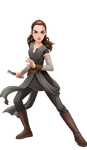 Forces of Destiny Hasbro Art - Jedi Rey
