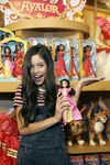 Jenna Ortega with Isabel doll