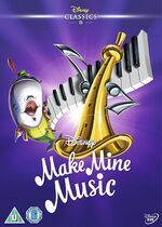 Make Mine Music UK DVD 2014 Limited Edition slip cover