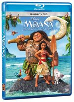 Moana Mexico Blu-Ray