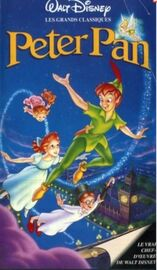 Peter Pan 1996 France VHS