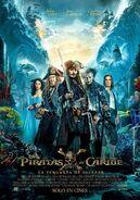 Piratas del Caribe - La Venganza de Salazar poster