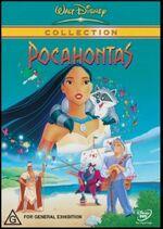 Pocahontas 2003 AUS DVD