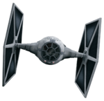 Rebels TIE Fighter Fathead 1