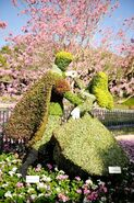 Sleeping Beauty Topiary