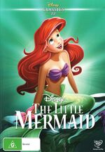 The Little Mermaid DVD Classics AU