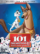 101 Dalmatians II Patch's London Adventure 2019 DMC Blu-Ray