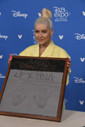 Christina Aguilera Disney Legends D23 Expo19