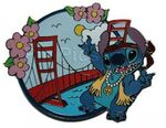 Disney Auctions - Stitch US Cities ( Stitch in San Francisco )