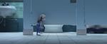 Judy jalan ke toilet