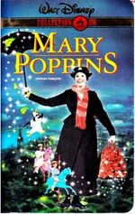 Mary Poppins 2000 French Canadian VHS