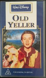 Old Yeller 1997 AUS VHS
