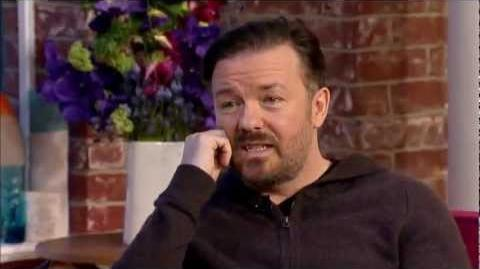 "Ricky Gervais talks about ""The Muppets.."