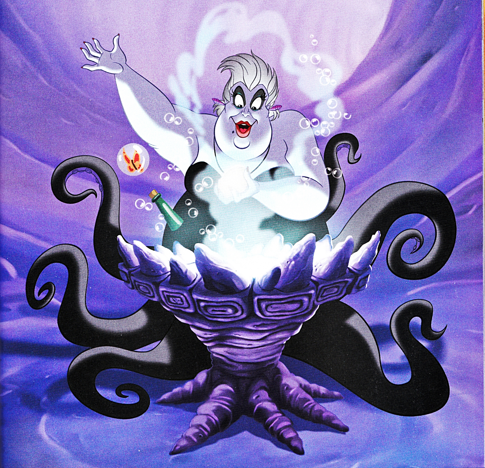 Uncategorized Ursula Mermaid ursula disney wiki fandom powered by wikia printed material