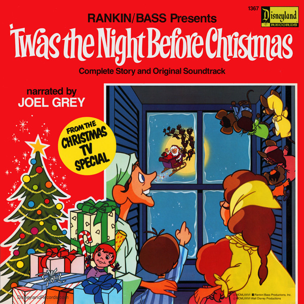 rankinbass presents twas the night before christmas - Twas The Night Before Christmas 1974
