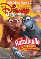 Disney Adventures Magazine cover August 2007 Ratatouille