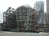 Disney Concert Hall - Under Const 01 - 2001-05