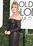 Goldie Hawn at Golden Globes
