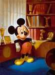 John Hench Mickey's 25th Anniversary portrait