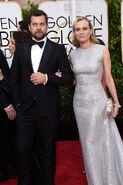 Joshua Jackson & Diane Kruger 72nd Golden Globes