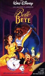 La Belle et la Bête 26 octobre 1993 VHS