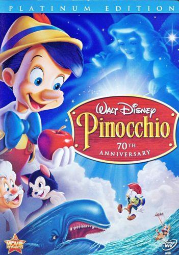 Pinocchio 70th aniversary (2009) DVD