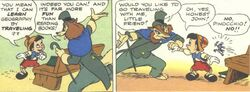 Pinocchio Honest JohnComic Panels