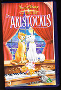 The Aristocats (2001 UK VHS)