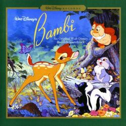 Bambi Soundtrack cover
