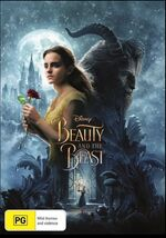 Beauty and the Beast Live Action 2017 AUS DVD