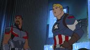 Captain America, Falcon - Double Face