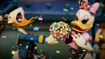 Daisy adores Donald's flowers