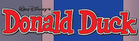 Donald Duck IDW logo
