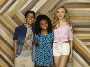Emma, Ravi, and Zuri Season 1 Promotional Picture