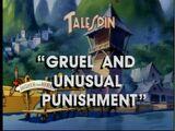 Gruel and Unusual Punishment