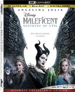 Maleficent Mistress of Evil 4KUHD Blu-ray