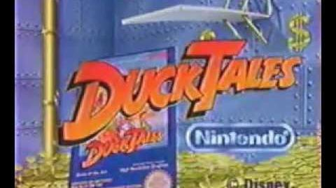 Publicité DuckTales - La bande à Picsou sur Nintendo Nes