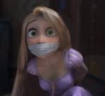 Rapunzel amordazada