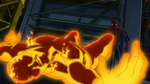 Spider-Man takes down Molten Man USMWW