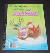 The rescuers little golden book