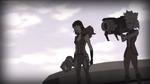 Young gamora and nebula