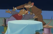 Basil with Dawson in House of Mouse