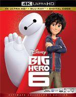 Big Hero 6 4KUHD Blu-ray